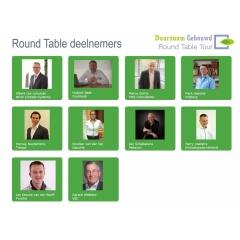 Round Table: 'Vertrouwen als sleutelwoord bij ketensamenwerking'